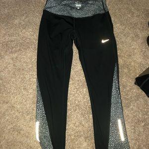 Nike 3/4 3M Reflective Leggings Size S